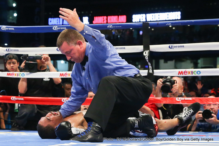 Canelo Alvarez obliterates Kirkland!