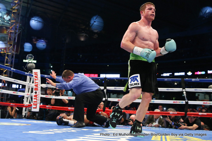 "Canelo vs. Kirkland, James Kirkland, Saul ""Canelo"" Alvarez - Well - I wrote yesterday that a couple of rounds of toe-to-toe action filled with drama would be better than 36 minutes of May-Pac and unless you are a total purist - I was proven correct. It was what we hoped for, albeit it for slightly longer maybe?"