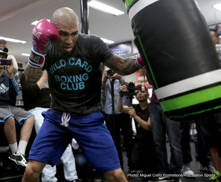 Miguel Cotto Media Day Quotes