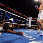 """Golovkin vs. Monroe Jr. - The 20th consecutive KO (TKO) win for Golovkin was less eventful than """"the big drama show' catch phrase suggested. The fight took place on May 16 and the venue was the Forum in Inglewood, Cal. The challenger Willie Monroe Jr. (19-2, 6 KOs), a US southpaw with Cuban roots, was known for his speed but not his power and he was not expected to rock and test the Kazakh with concussive leather. Monroe comes from a boxing family - his uncle Willie """"The Worm"""" Monroe once outpointed Marvin Hagler of all middleweights handing him his 2nd pro loss – and when you add the Cuban connection the bar goes up a notch as well. Willie was a Boxino tournament champ and his only loss had been a UD to Darnell Boone, an under-appreciated but notoriously awkward customer who KOed Adonis Stevenson and has scored knock downs over Sergey Kovalev and Andre Ward.  The undefeated Golovkin looked forward to fighting a slick southpaw and they were of equal size with a reach advantage in favor of the American. Here is a round by round recap of the bout:"""