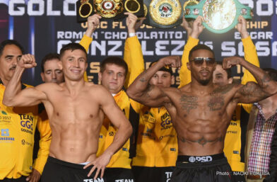 Golovkin vs. Monroe Jr. - Perhaps the sport's most feared fighter, middleweight titleholder Gennady Golovkin has built a powerhouse reputation by demonstrating a willingness to take on any challenge and displaying an intriguing array of skills, highlighted by stunning knockout power.