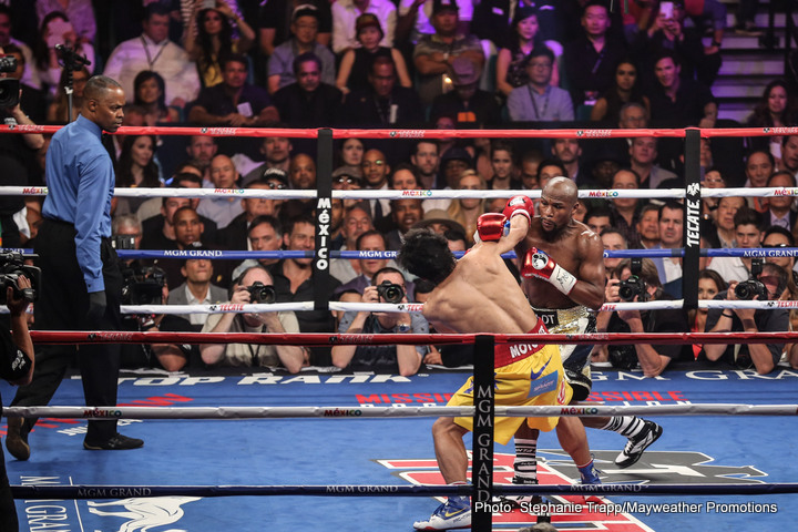 Pacquiao slams Mayweather in response to Instagram taunt