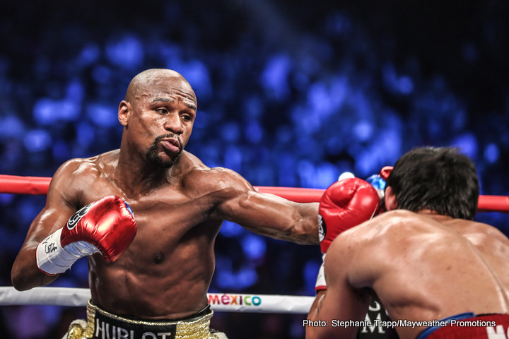 WBO Strips Mayweather Jr. of Title
