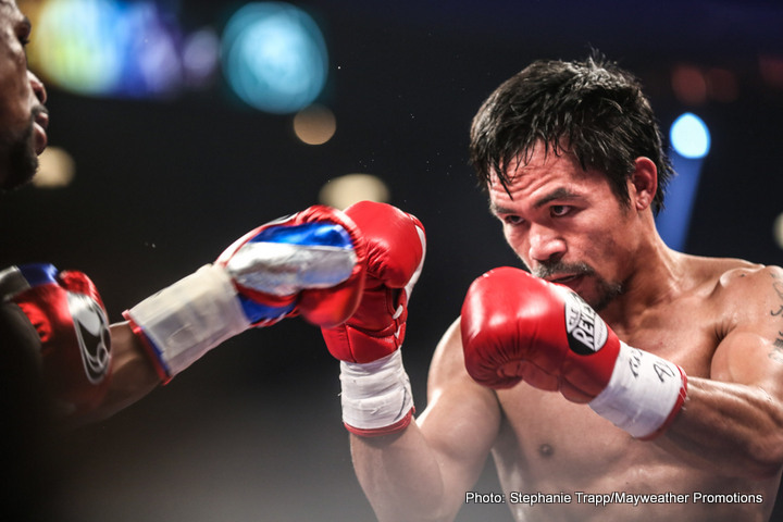 Manny Pacquiao asks his fans: who do you want me to fight next? Lists four names to choose from