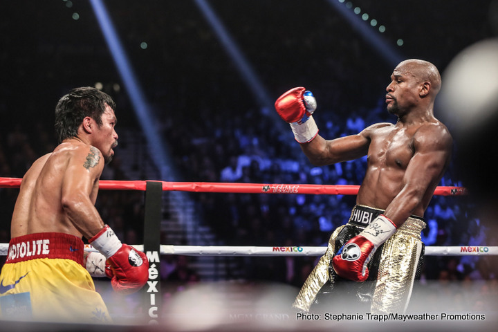 Pacquiao won't be retiring after Bradley fight, wants Mayweather rematch