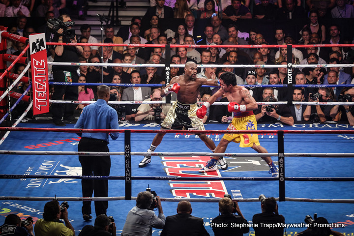 "Manny Pacquiao on Floyd Mayweather fight: ""I only lost in the eye of the judges"""