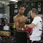 James DeGale - Nigel Benn- Michael Watson- Chris Eubank: three names that perhaps do not signify pound for pound pedigree but a trifocal of British pugilists that waged successive wars against each other across the early nineties. Frankly, any boxing purism would have been out of place in a hellish round robin of barbaric contests between the trio predicated upon genuine animosity and bloodlust that were more reminiscent of trench warfare than of any sporting endeavour. For the pleasured served up, tolls were taken, with Michael Watson suffering a cruel brain injury in his bout with Chris Eubank that would permanently alter his life. Speak to the irrepressible Watson today though and not a modicum of self-pity or regret will be detected in his attitude.