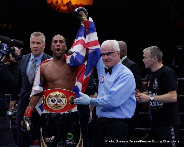 Rule Britannia! – DeGale Turns Road Warrior & Makes History