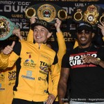 Golovkin vs. Monroe Jr. - Saturday night sees slick, yet light punching Boxcino tournament winner Willie Monroe Jr (19-1, 6ko) attempt the seemingly impossible when he becomes the 33rd man to step between the ropes to face destructive puncher Gennady Golovkin.