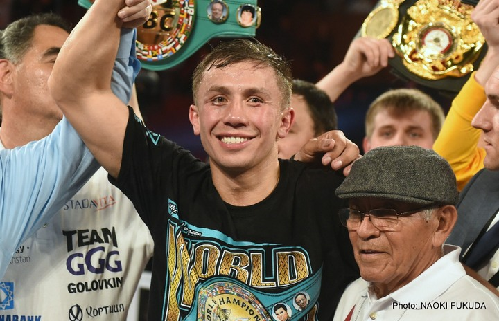 Gennady Golovkin & David Lemieux Camps In Provisional Talks