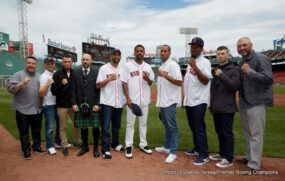 Andre Dirrell, James DeGale - Fighters participating on Saturday's Premier Boxing Champions on NBC card took part in the final press conference today at historic Fenway Park in Boston before their respective fights at Agganis Arena, with televised coverage starting at 4:30 p.m. ET/1:30 p.m. PT.