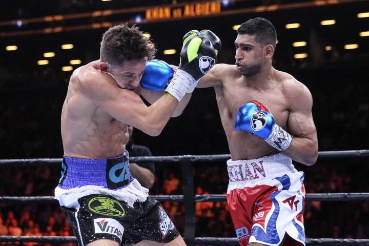 Amir Khan Chris Algieri Boxing News Boxing Results