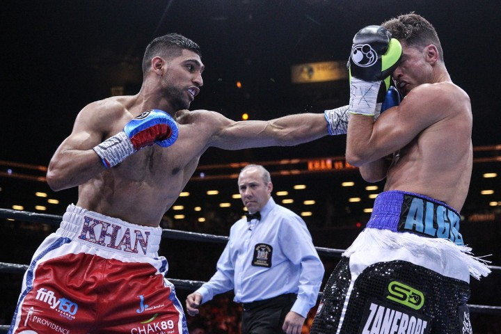 Amir Khan Boxing News