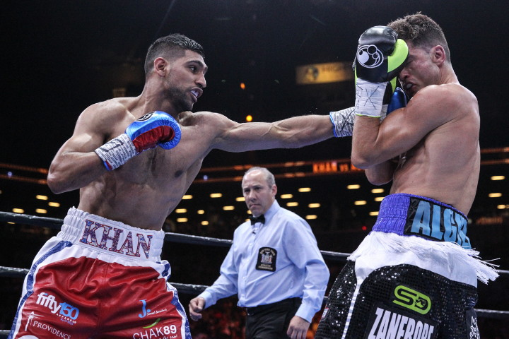 Khan defeats Algieri
