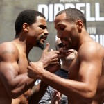 James DeGale - If there has been an irksome, fly-on-s*** type presence hanging over the media workouts and pressers this week in Boston ahead of tonight's fight between James DeGale and Andre Dirrell, look no further than the non-boxing brother of the Dirrell family - Willie - who has spoken to iFLtv in between making an ass of himself - to state unequivocally that he believes the IBF 168lb title is going back to Michigan.