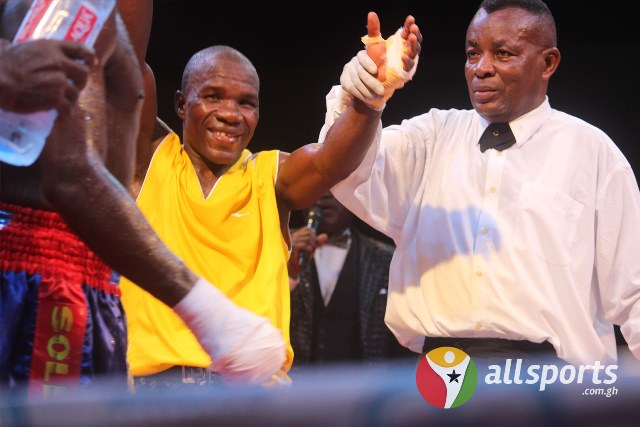 Raymond Commey wins WBA Pan Africa Super Bantamweight   title