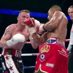 Frankie Gavin - IBF welterweight champion Kell Brook (35-0, 24 KOs) did what he had to do in destroying his opponent Frankie Gavin (22-2, 13 KOs) in six rounds on Saturday night in retaining his IBF 147lb title at the O2 Arena in London, UK. Brook landed a nice right hand that hurt Gavin. Brook then unloaded his artillery on Gavin until he slumped into the ropes.
