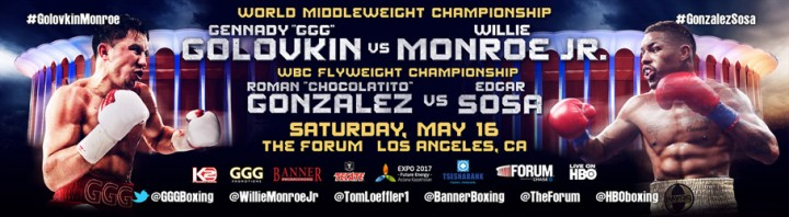 Golovkin vs. Monroe Willie Monroe Jr. Boxing Interviews Boxing News