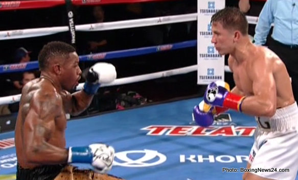 Golovkin destroys Monroe Jr; Gonzalez obliterates Sosa