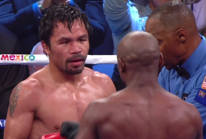 Only In America!  Pacquiao Sued For Injury