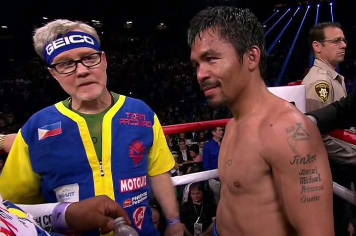"Refuting Arum's claims of ""B.S,"" Manny Pacquiao confirms he IS in talks to fight Amir Khan"