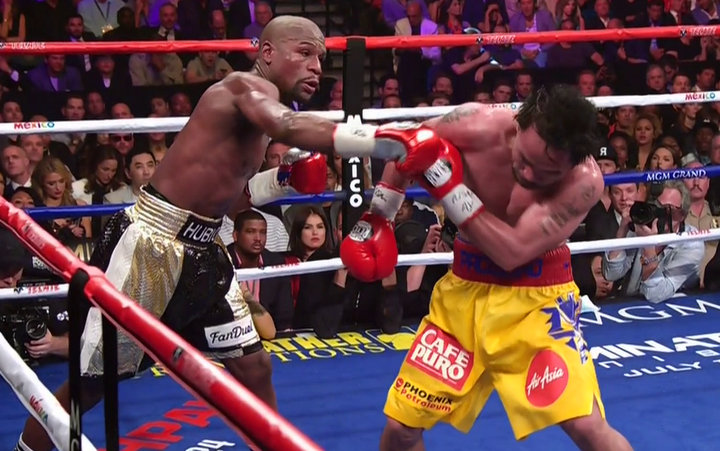 Floyd Mayweather Jr Manny Pacquiao Mayweather vs. Pacquiao Boxing News Boxing Results