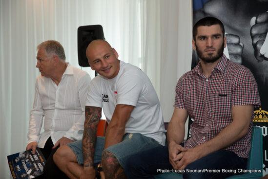 Artur Beterbiev, Delvin Rodriguez, Erislandy Lara - Press Room