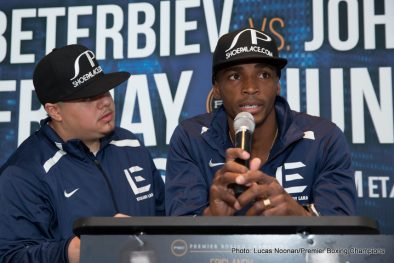 Alexander Johnson Artur Beterbiev Delvin Rodriguez Erislandy Lara Press Room