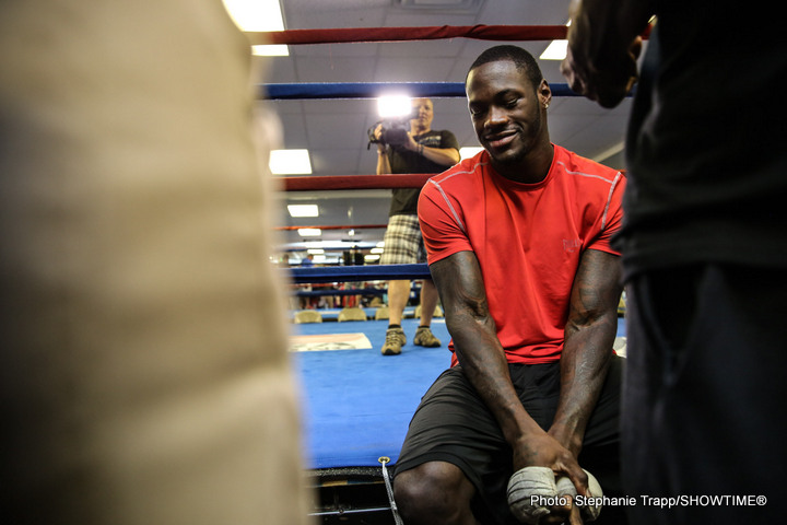 Deontay Wilder Eric Molina Boxing News
