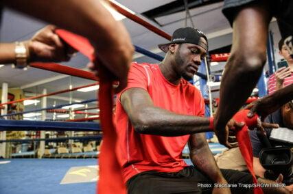 Deontay Wilder, Eric Molina - Boxing News