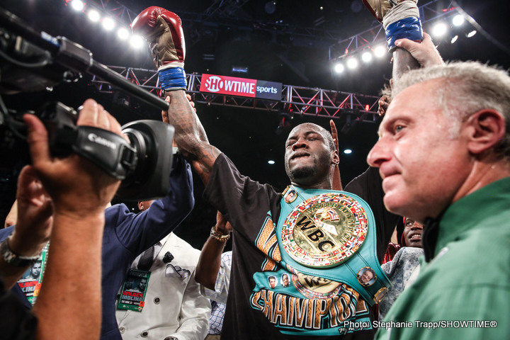 Deontay Wilder vs. Artur Szpilka to be televised on Sky Sports