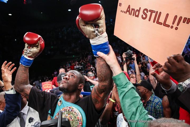 Deontay Wilder Tyson Fury Wladimir Klitschko Boxing News