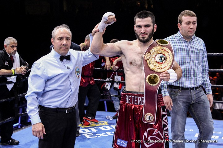 Artur Beterbiev Boxing Results