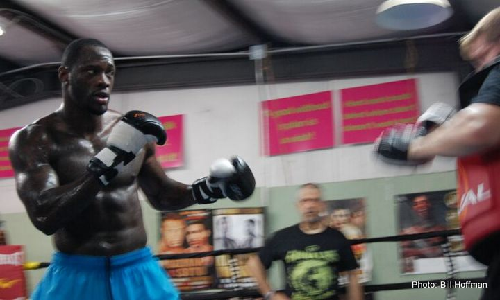 Deontay Wilder hopes Eric Molina fights back on June 13th