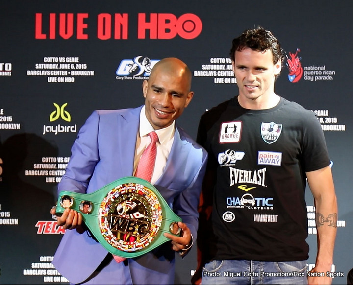 Malignaggi Calls Geale A 'Tune Up' For Cotto / Not Pumped By The Fight