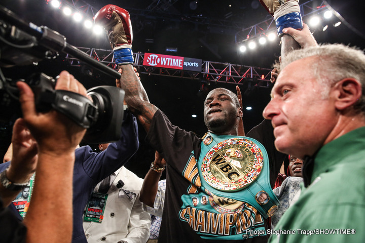 Wilder vs Duhaupas: Deontay Wilder Presser Quotes