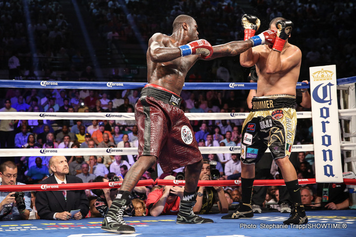 Deontay Wilder Returns to the Ring on Sept 26th / No Opponent Yet