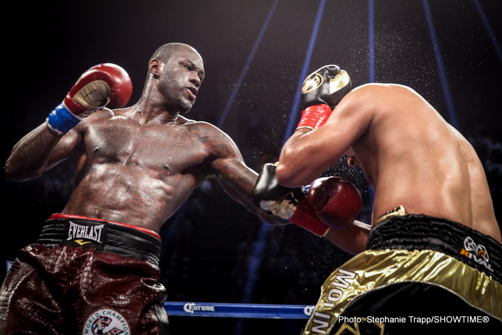 Eric Molina - Right now there are a lot of boxing fans and members of the media who have serious doubts about WBC heavyweight champion Deontay Wilder (34-0, 33 KOs) being able to hold onto his WBC heavyweight title for very much longer. Wilder's performance last night against Eric Molina (23-3, 17 KOs) was arguably one of the worst performances by a heavyweight world champion in many years.