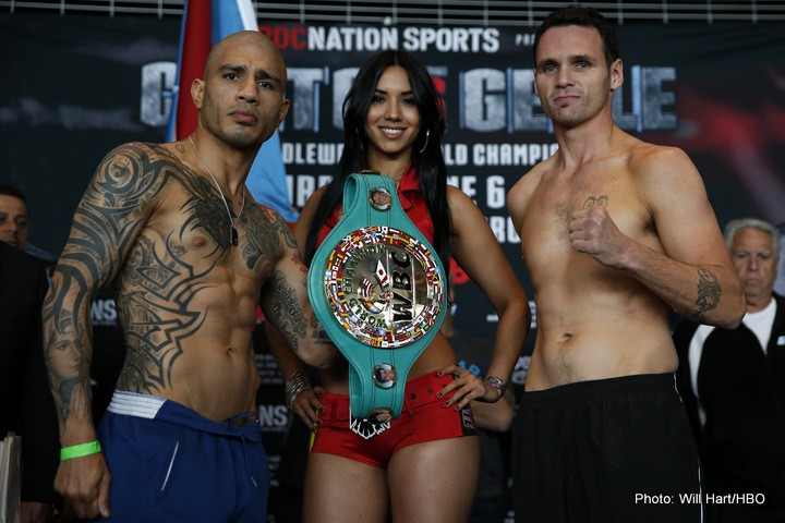 Cotto vs. Geale Daniel Geale Miguel Cotto Boxing News