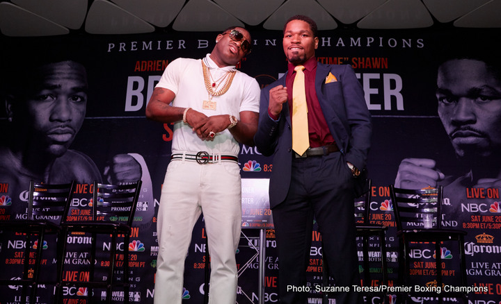 Adrien Broner – Shawn Porter quotes
