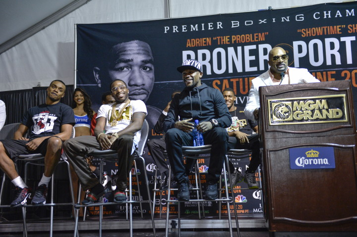 Adrien Broner: 'I Wanna Fight Everybody!'