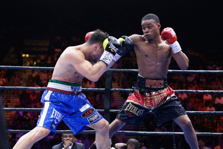 "Errol Spence, Phil Lo Greco - (Photo credit: Suzanne Teresa/Premier Boxing Champions) Shawn Porter (26-1-1, 16 KOs) conquered Adrien ""The Problem"" Broner (30-2, 22 KOs) by a 12 round unanimous decision in a spirited fight on Premier Boxing Champions on NBC from the MGM Grand in Las Vegas, Nevada. Porter may not have had the talent that Broner had, but his tremendous heart, aggressiveness and high work rate proved to be too much for the 25-year-old Broner to deal with."