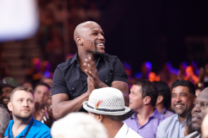 Floyd Mayweather insists he will fight either Karim Mayfield or Andre Berto in September