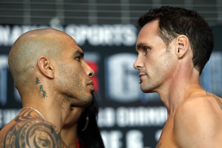 Photos: Cotto and Geale make weight