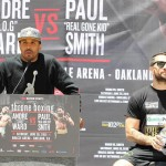 Paul Smith - (Photo credit: Tom Hogan - Hoganphotos/Roc Nation Sports) Despite it being his first fight in over a year and a half on Saturday, Andre Ward is in confident mood ahead of his in-ring return against Britain's Paul Smith, with all signs pointing toward it being nothing but routine business for the American fighter against a man expected to be hopelessly outgunned.