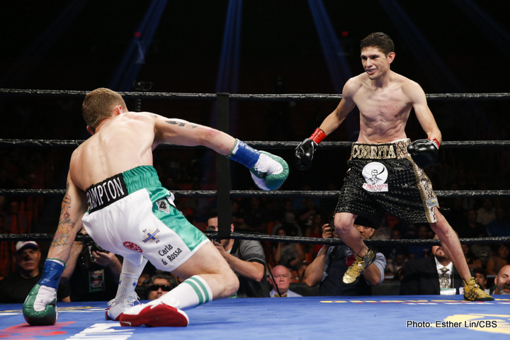 Frampton gets up off the canvas to beat Gonzalez