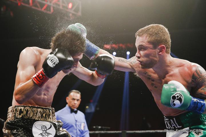 Carl Frampton/Barry McGuigan confirm summer fight with Leo Santa Cruz in New York