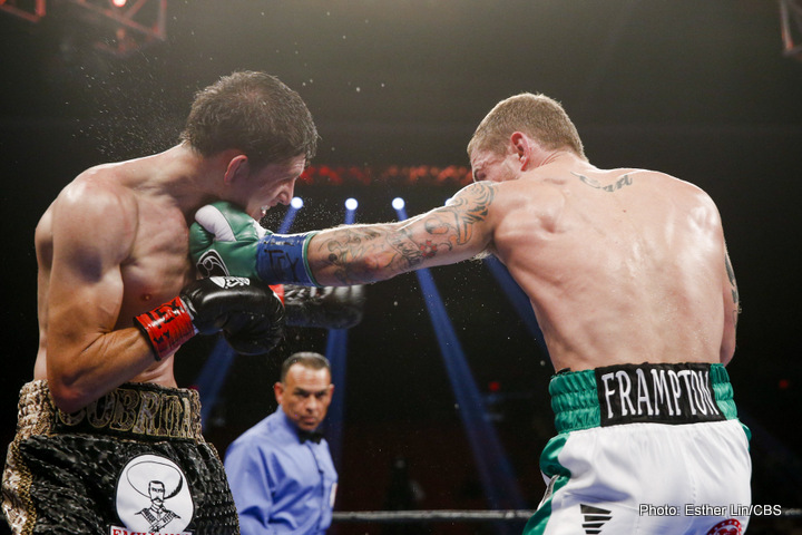"Unbeaten Irish star Carl Frampton was dubbed by some as The New Barry McGuigan after a few fights into a pro career that has now seen ""The Jackal"" capture two major belts as a super-bantamweight. Managed by the Irish legend who ruled the featherweight division for a short but shining time in the 1980s, Frampton's next aim is to dethrone WBA featherweight king Leo Santa Cruz on July 30th. The motivation of becoming a two-weight champion and a big (or bigger) star in the US would be enough, but Frampton has an added motivation: that of ""winning the WBA title back for Barry."""