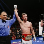 Carl Frampton, Leo Santa Cruz - The Santa Cruz fight at featherweight made the most financial sense for the hugely popular Frampton but the twenty-nine year old undefeated Belfast native wanted to make clear his gratitude to the International Boxing Federation (IBF) ahead of his World featherweight title challenge.