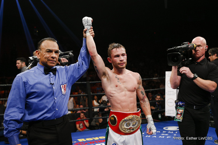 Frampton Relinquishes IBF Super Bantamweight Belt Ahead of His Bid for Featherweight Glory